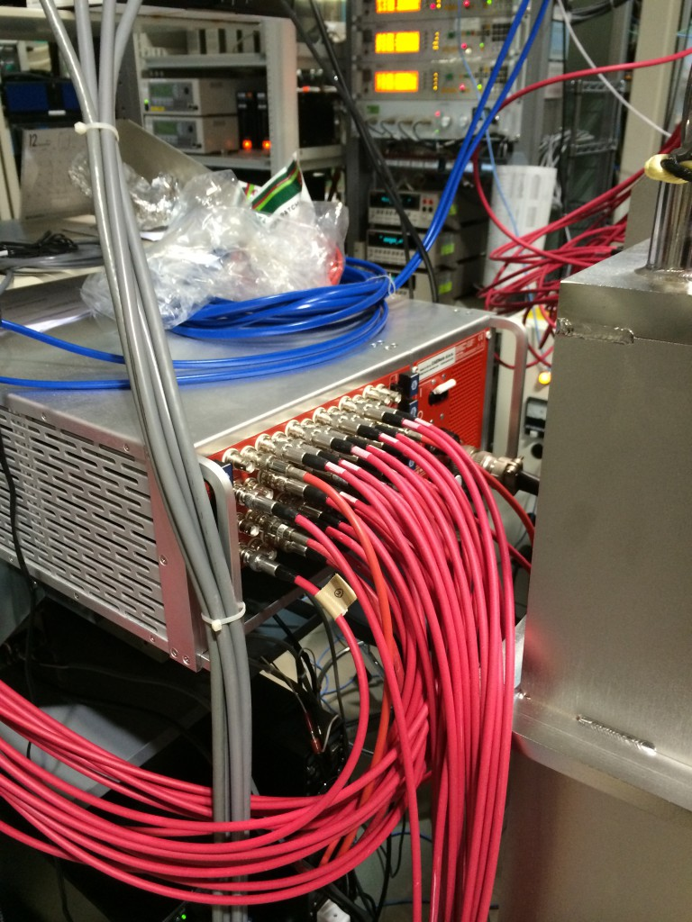 HV-ADAPTOS on a beamline